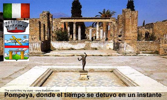 Pompeya, donde el tiempo se detuvo en un instante - pompeya italia - Pompeya, donde el tiempo se detuvo en un instante