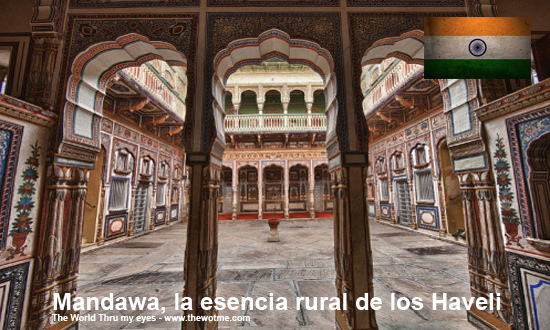 Mandawa, La esencia rural de los Haveli - mandawa rajasthan india - Mandawa, La esencia rural de los Haveli