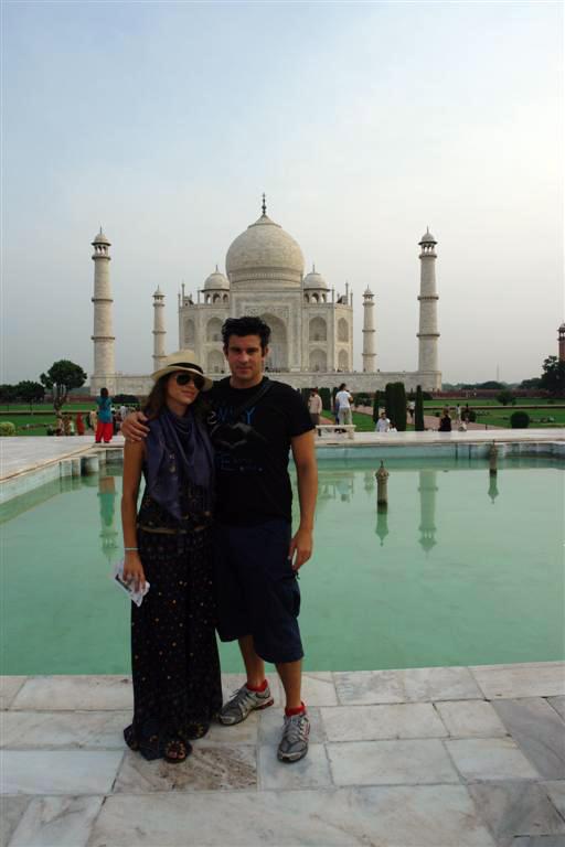 Y sí, ... aquí estuvimos en el mayor monumento al amor jamás construído taj mahal, la declaración de amor más grande - DSC07315 - Taj Mahal, la declaración de amor más grande