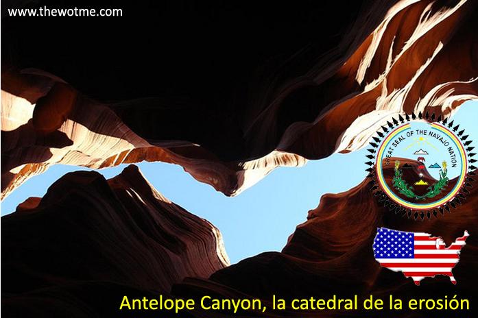 antelope canyon, la catedral de la erosión - antelope canyon - Antelope Canyon, la catedral de la erosión