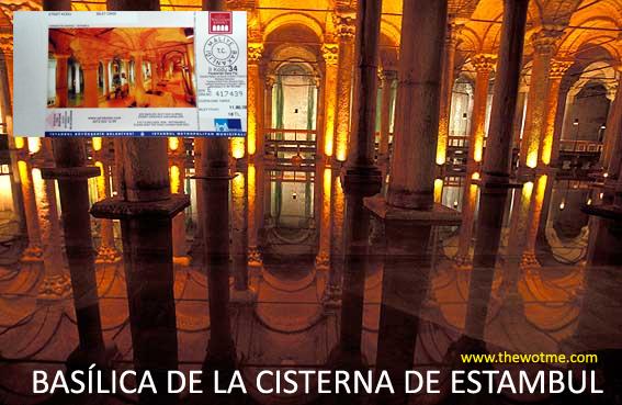 Basílica de la Cisterna de Estambul - basilica cisterna estambul - Basílica de la Cisterna de Estambul