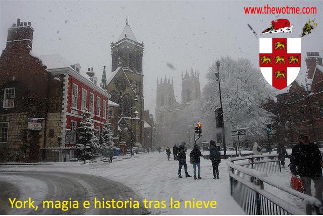 York, magia e historia tras la nieve - york inglaterra - York, magia e historia tras la nieve