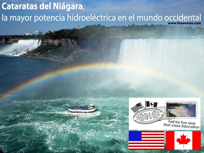 Cataratas del Niagara, la mayor potencia hidroeléctrica en el mundo occidental Cataratas del Niágara, la mayor potencia hidroeléctrica en el mundo occidental - cataratas del niagara - Cataratas del Niágara, la mayor potencia hidroeléctrica en el mundo occidental
