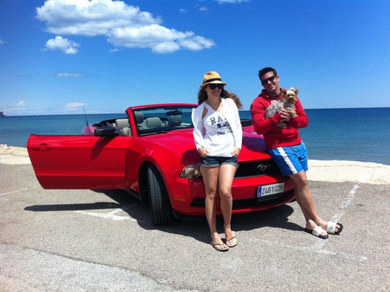 Mustang (ya español) en las playas de Cullera (Valencia) florida keys, carretera al paraíso (mejor con un mustang) - IMG 3813 - Florida Keys, carretera al paraíso (mejor con un Mustang)