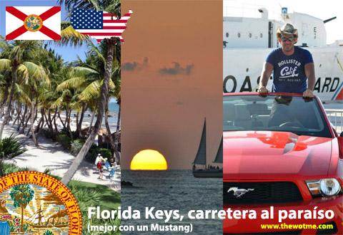 Florida Keys, carretera al paraíso (mejor con un Mustang) - florida keys - Florida Keys, carretera al paraíso (mejor con un Mustang)
