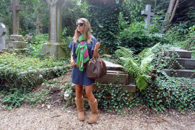 highgate cemetery - DSC01218 - Highgate Cemetery de Londres, donde a la muerte se le llama arte