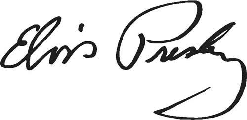 elvis presley - Elvis Presley signature - Elvis Presley, 35 años después sigue siendo el Rey