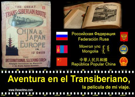 Aventura en el Transiberiano, la película de mi viaje. - aventura en el transiberiano - Aventura en el Transiberiano, la película de mi viaje.