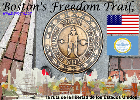 boston's freedom trail, la ruta de la libertad de los estados unidos - boston freedom trail - Boston's Freedom Trail, la ruta de la libertad de los Estados Unidos