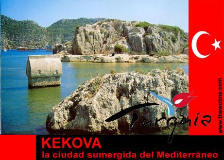 kekova, la ciudad sumergida del mediterráneo - kekova turquia - Kekova, la ciudad sumergida del Mediterráneo
