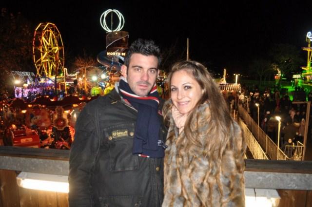 Un frío terrible el que hemos pasado en el Winter Wonderland de Londres, pero lo hemos pasado estupendamente bien !!