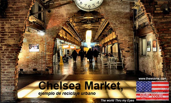 Chelsea Market, ejemplo de reciclaje urbano - chelsea market manhattan - Chelsea Market, ejemplo de reciclaje urbano
