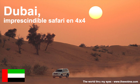 Dubai, imprescindible safari en 4x4 - dubai 4x4 - Dubai, imprescindible safari en 4×4