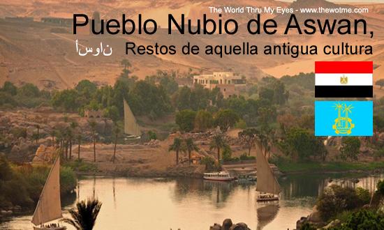 pueblo nubio de aswan - publo nubio aswan - Pueblo Nubio de Aswan, Restos de aquella antigua cultura