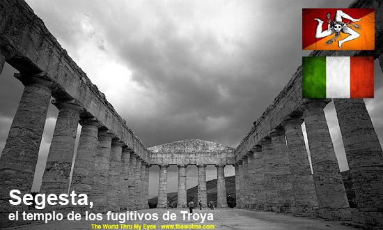 templo de segesta - segesta sicilia - Templo de Segesta en Sicilia, el templo de los fugitivos de Troya