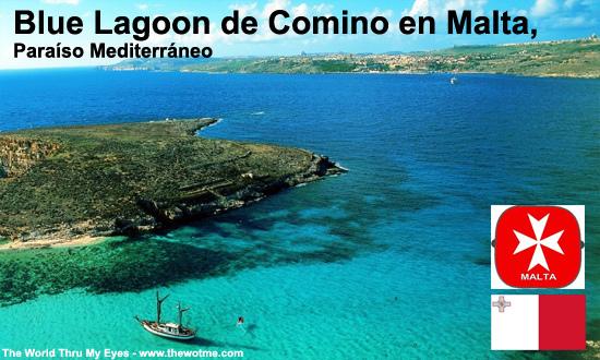 Blue Lagoon de Comino en Malta, paraíso mediterráneo thewotme@TV - blue lagoon comino - thewotme@TV