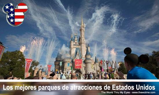 parques de atracciones de estados unidos - parques atracciones USA - Los mejores parques de atracciones de Estados Unidos