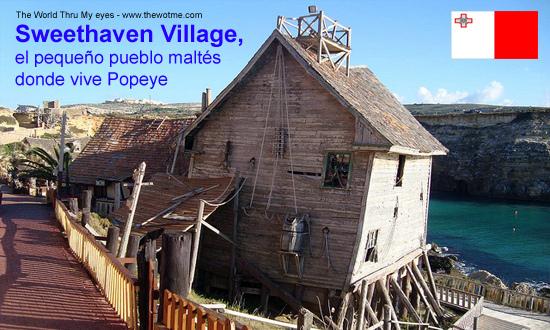 Sweethaven Village, el pequeño pueblo maltés donde vive Popeye - popeye malta - Sweethaven Village, el pequeño pueblo maltés donde vive Popeye