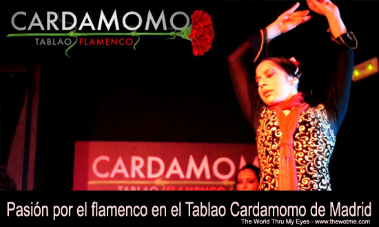 Pasión por el flamenco en el tablao Cardamomo thewotme@TV - cardamomo - thewotme@TV