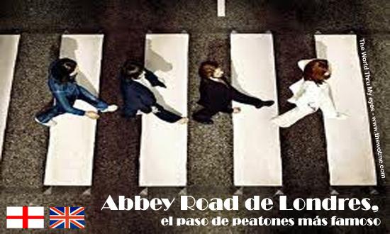 Abbey Road de Londres abbey road - abbey road - Abbey Road de Londres, el paso de peatones más famoso