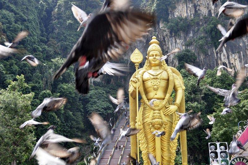 Cuevas Batu Malasia Cuevas Batu en Malasia, el templo hindú más grande fuera de la India - Cuevas Batu Malasia - Cuevas Batu en Malasia, el templo hindú más grande fuera de la India