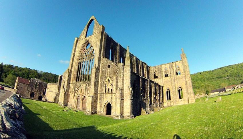 abadía de tintern, gales - portada1 - Abadía de Tintern, Gales