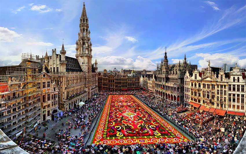bruselas en un día - PLAZA DE BRUSELAS - Bruselas en un día