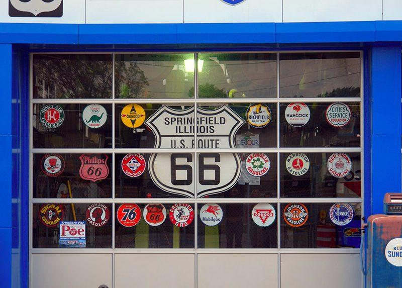 dónde está springfield - portada SpringField Ruta 66 Los Simpsons Illinois 800x573 - ¿Dónde está Springfield?, yo ya he estado.