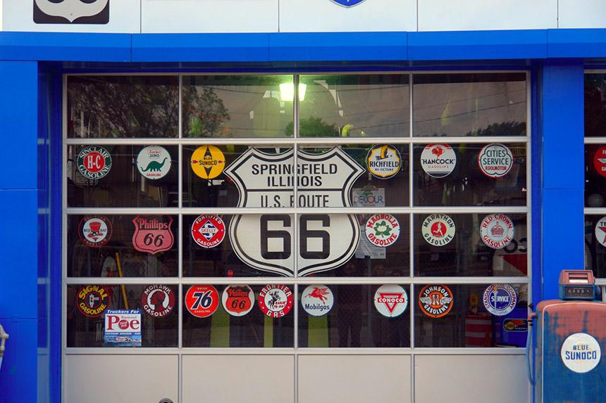dónde está springfield - portada SpringField Ruta 66 Los Simpsons Illinois - ¿Dónde está Springfield?, yo ya he estado.