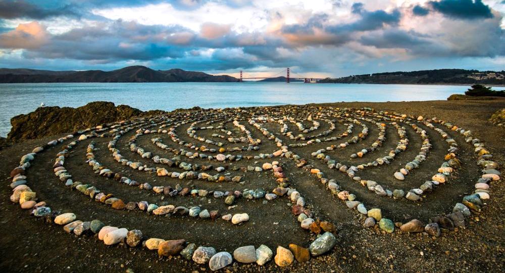 que ver en san francisco - Lands End Labyrinth san francisco - 10 lugares mágicos que ver en San Francisco, California