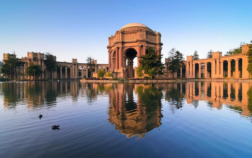 que ver en san francisco - palais fine arts san francisco - 10 lugares mágicos que ver en San Francisco, California