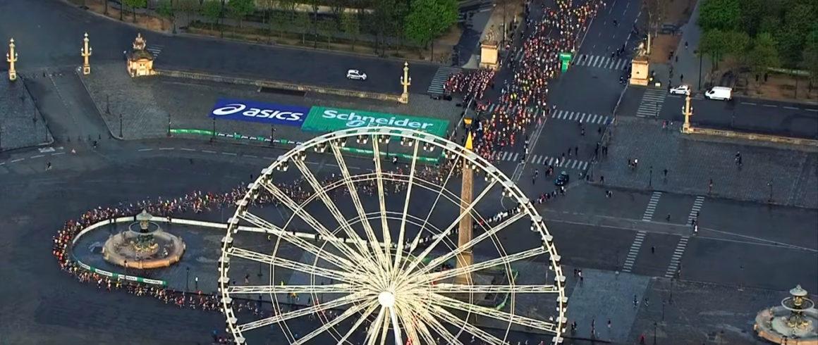 Maratón de París - Paris Marathon maratón de parís - paris marathon video frame 3 1160x490 - Maratón de París: análisis, recorrido, entrenamiento y recomendaciones de viaje