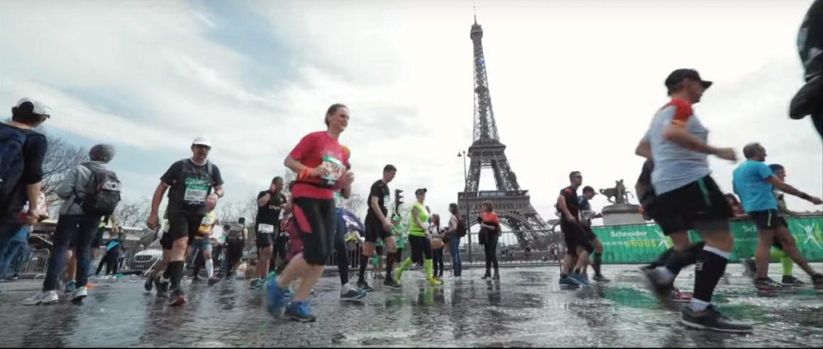 Maratón de París - Paris Marathon maratón de parís - paris marathon video frame 5 1160x492 - Maratón de París: análisis, recorrido, entrenamiento y recomendaciones de viaje