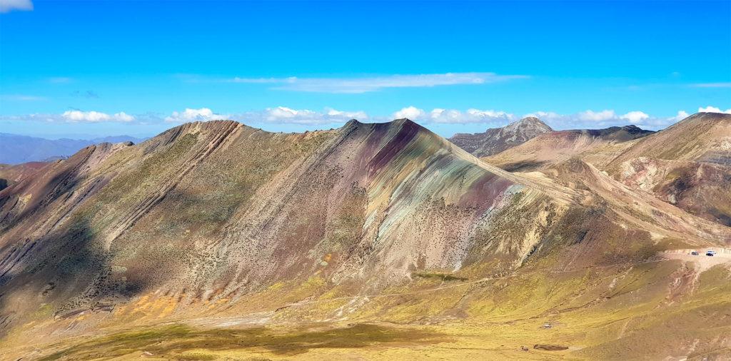 montaña arcoiris montaña arcoiris - montana colores palcoyo vinicunca peru cusco 02 1024x506 - Montaña Arcoiris de Perú, naturaleza multicolor