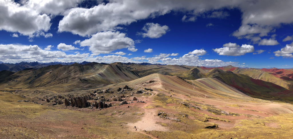 montaña arcoiris montaña arcoiris - montana colores palcoyo vinicunca peru cusco 12 1024x488 - Montaña Arcoiris de Perú, naturaleza multicolor
