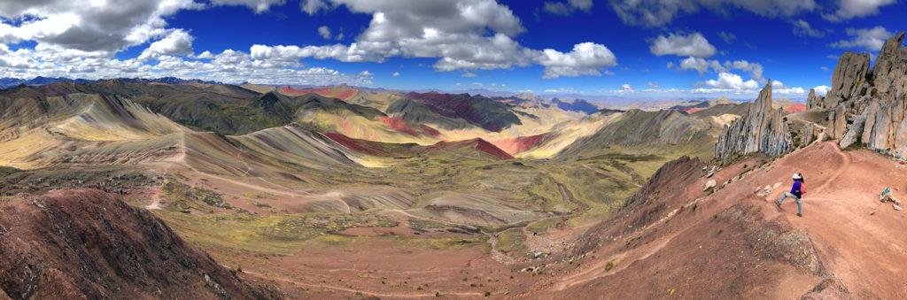 montaña arcoiris montaña arcoiris - montana colores palcoyo vinicunca peru cusco 14 1024x339 - Montaña Arcoiris de Perú, naturaleza multicolor