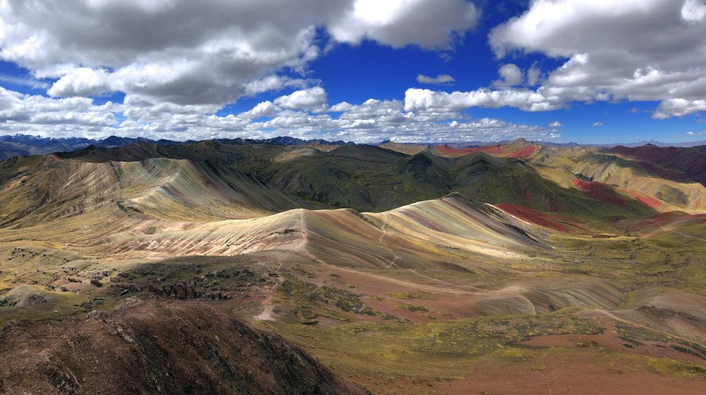 montaña arcoiris montaña arcoiris - montana colores palcoyo vinicunca peru cusco 15 1024x573 - Montaña Arcoiris de Perú, naturaleza multicolor