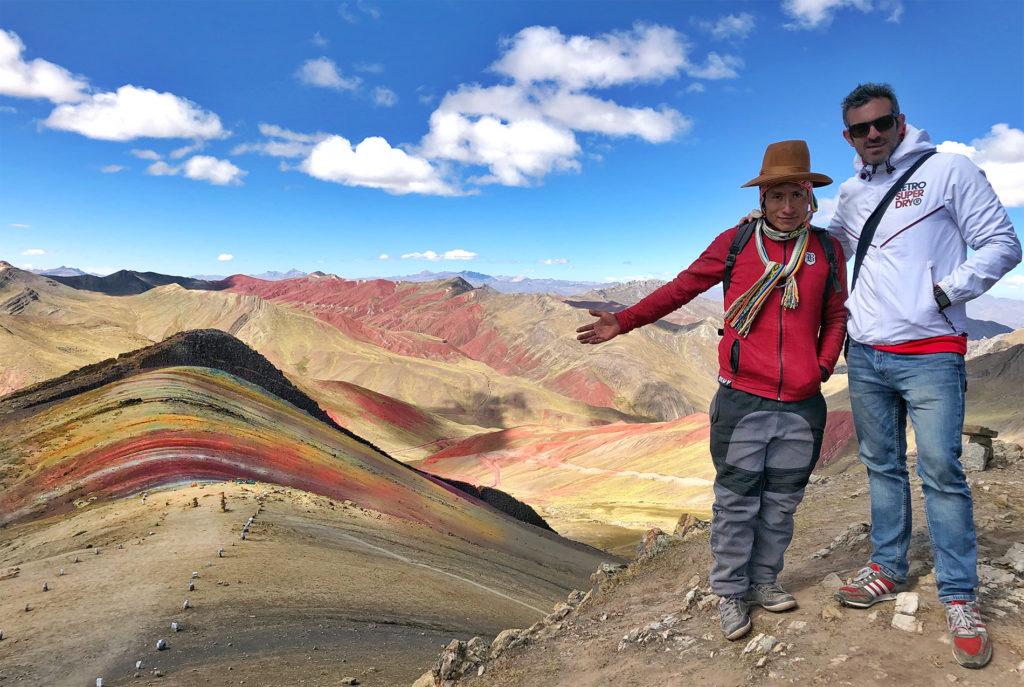 montaña arcoiris montaña arcoiris - montana colores palcoyo vinicunca peru cusco 23 1024x687 - Montaña Arcoiris de Perú, naturaleza multicolor