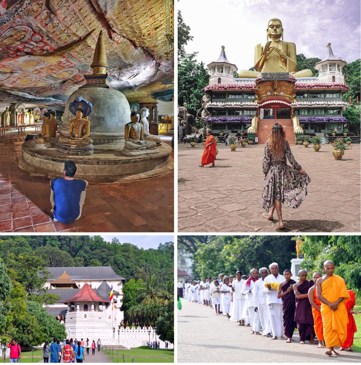 ruta por Sri Lanka en 8 días ruta por sri lanka en 8 días - thewotme dambulla sri lanka golden temple templo de oro 1160x1172 - Nuestra ruta por Sri Lanka en 8 días, diario de viaje